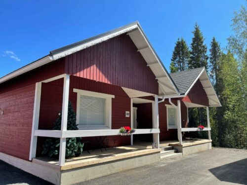 The Premium cottages of Santa Claus Holiday Village are heated using special ecological geothermal energy and green electricity.